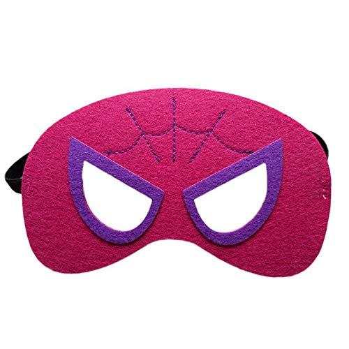 Superheld Maske Cosplay Superman Spiderman Hulk Thor Ironman Flash Prinzessin Halloween Weihnachten Kinder Erwachsene Party Kostüme Masken, wie die Bilder (Kinder Kostüm Flash Die)