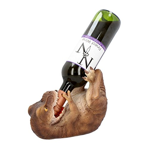 NN Weinflaschenhalter Dinosaurier T-Rex Tyrannosaurus