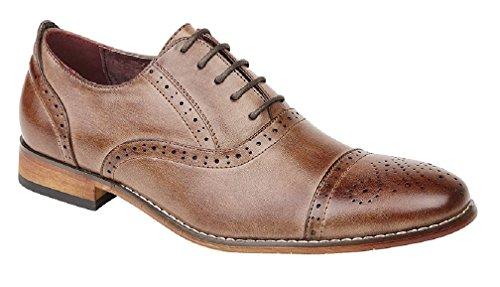 Mr Shoes - Brogue uomo Brown