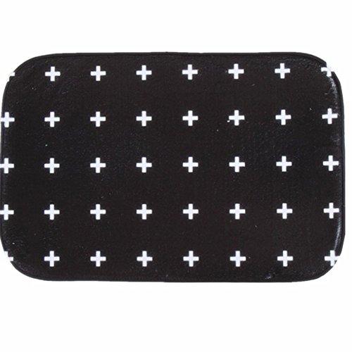 Oasis Green Area Rug (O-C Plus Dots Outdoor Indoor Antiskid Absorbent Bedroom Livingroom Bath Mat Bathroom Shower Rugs Doormats)