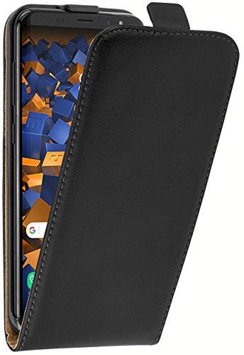 mumbi PREMIUM Leder Flip Case für für Samsung Galaxy S8+ Tasche