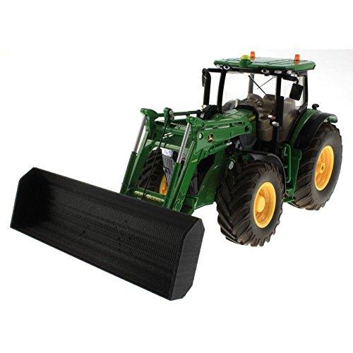Schiebeschild für Siku Control 32 Traktoren (Schwarz)
