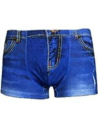 8f35e054d4303 BoBoLily Denim Shorts Manches Courtes Été Mode Jeggings Confortable Spécial  Style Élastique Loisir Respirant Denim Shorts