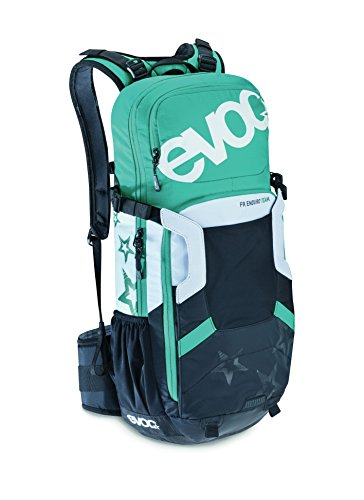Evoc FR Enduro Team Women 16L - Protector Radrucksack Black/White/Green