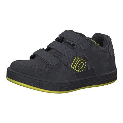 Five Ten Kinder Mountainbike Schuhe Freerider Kids VCS Grey Six/Shock Yellow/Black 31