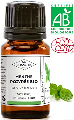 Aceite esencial menta piperita BIO - MyCosmetik -