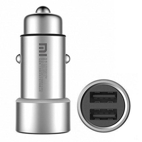Xiaomi meu cotxe carregador dual USB Plata