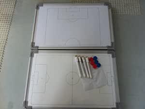 Soccer / Football Coaches Double Sided Tactics Magnetic White Board with Marker