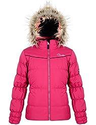Dare 2b Girls' Emulate Ski Jacket-Black, 34-Inch
