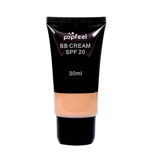 Providethebest POPFEEL Gesichtsverfassung Brightening BB Beauty Cream Concealer Corrector Whitening Makeup Primer Flüssige Foundation FE04#