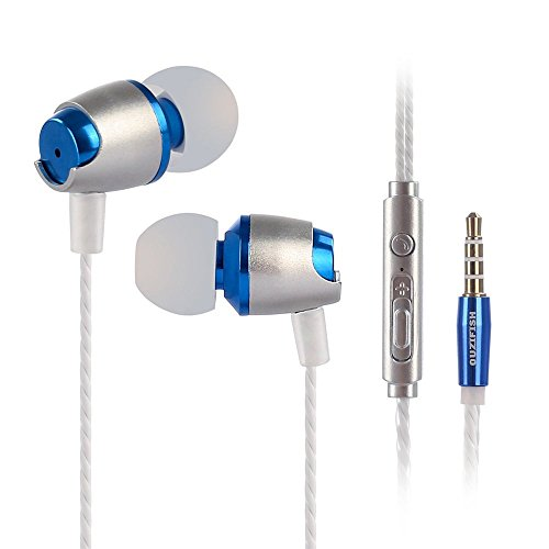 Fanxing Sports Outdoors 3.5mm In Ear Stereo Headphone Headset Super Bass Music Metal Earphone Earbuds