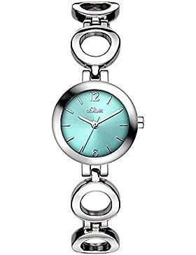 s.Oliver Damen-Armbanduhr XS Analog Quarz Alloy SO-3016-MQ