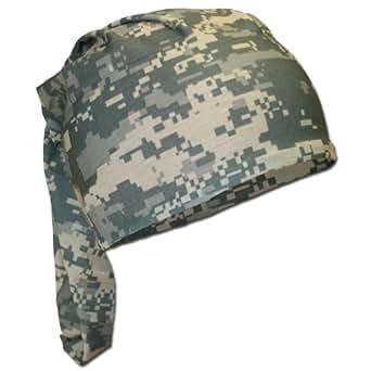 Combat Scarf Versatile Headgear Cap Headwrap Face Mask Headband ACU Digital Camo