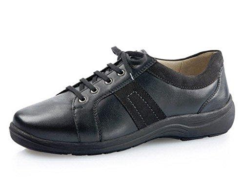Solidus  Natura Man, Chaussures de ville à lacets pour homme Schwarz