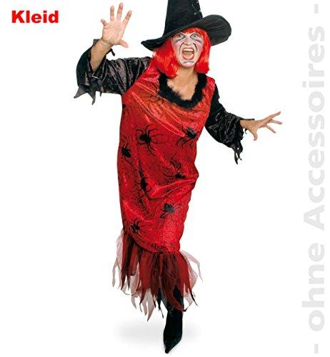 Unbekannt Spinnen Spiderlady Damen Kostüm Spider Hexen Halloween Damenkostüm