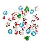 Amogha Mini Pencil Rubber Eraser Santa Kid Party Favor Gift