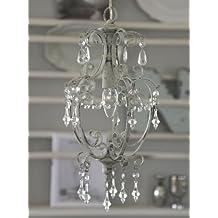 Chic Antique Kronleuchter Deckenleuchte Lampe Antik Look Shabby 22x40