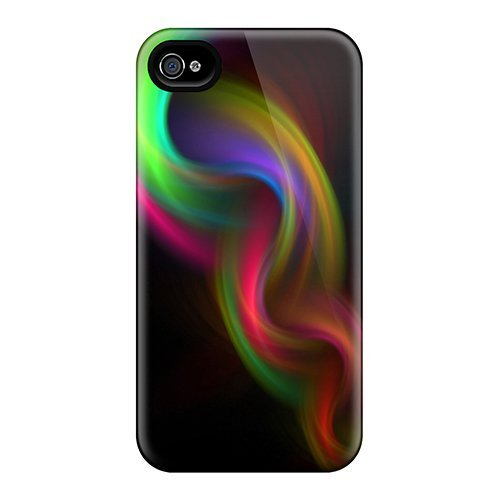 Tpu Purecase Shockproof Scratcheproof Colorful Hard Case Cover For Iphone 4/4s