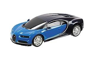 Mondo-Bugatti Chiron teledirigido (escala 1/24),colores variados , Modelos/colores Surtidos, 1 Unidad