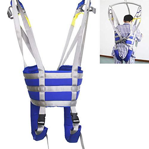 41a10unqqsL - ZIHAOH Arnés De Elevación De Paciente De Cuerpo Completo, Cinturón para Caminar Asistido por El Paciente, para Posicionamiento Y Elevación De La Cama, Enfermería