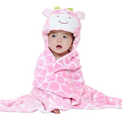 GeschenkIdeen.Haus - Baby- & Kleinkinder Badetuch mit Kapuze im Tier-Motiv