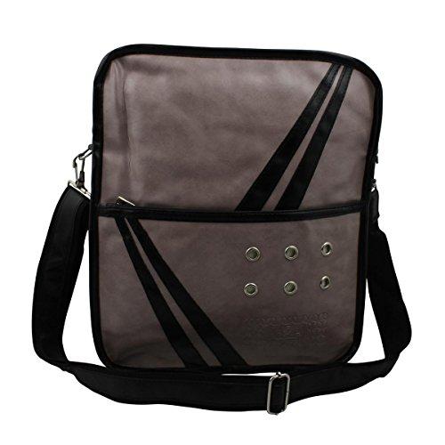 Superfreak® Tasche 70s Up Umhängetasche Serie S-7008, alle Farben!!! graubeige/schwarz