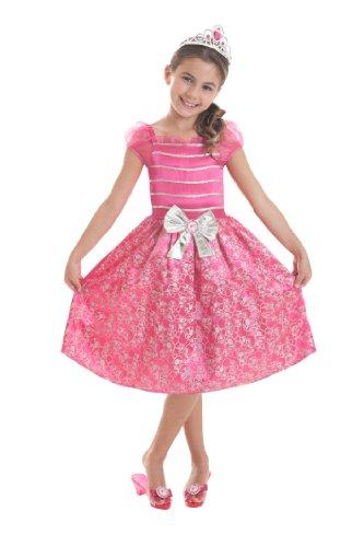 Barbie? Prinzessinnen Mädchen-Kostüm - 5 bis 7 (Erwachsene Barbie Kostüme Für)