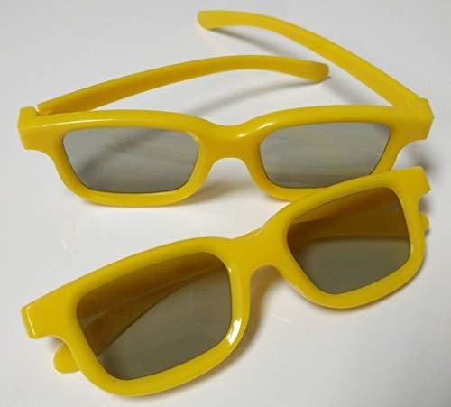 WYJW 3D-Film Brille aus Kunststoff polarisierten dreidimensionalen Nicht-Flash-3D-Kino gewidmet Explosionen