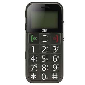 ZTE S202 Téléphone portable GSM Noir