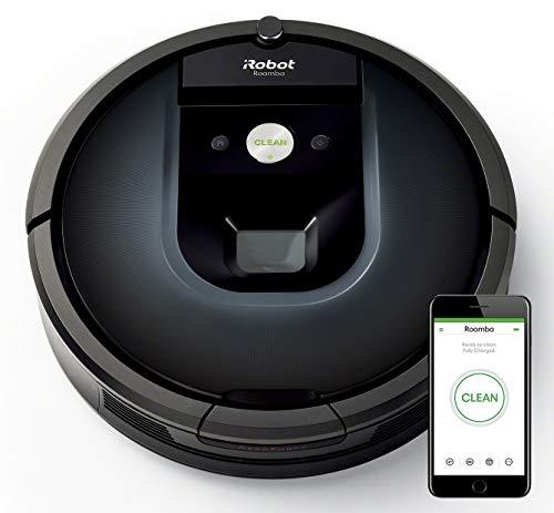 IRobot Roomba 981 - Robot Aspirador para Alfombras con Potencia de Succión, Multi Habitación, Tecnología...