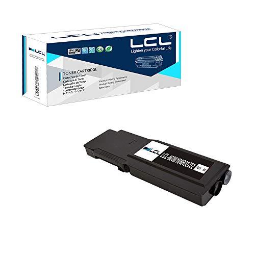 LCL Cartucce di Toner Compatibile 6600 6600N 6600DN 6605N 6605DN 106R02232 (1 Nero) Sostituzione per Xerox Phaser 6600 6600dn 6600n 6600ydn WorkCentre 6605 6605n 6605dn