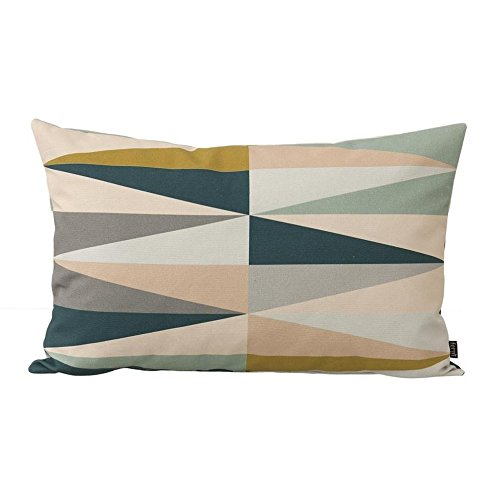 Ferm Living Kissenhülle Spear Cushion