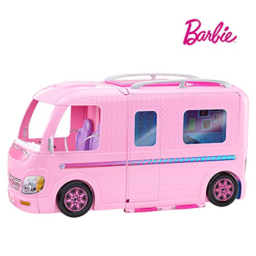 Barbie Supercaravana de Barbie, autocaravana muñeca barbie (Mattel FBR34)