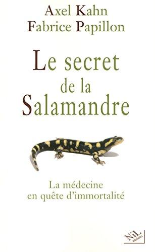 Le secret de la salamandre par Axel KAHN