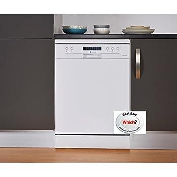 White Knight DW1460WA 14 Place Freestanding Dishwasher - White