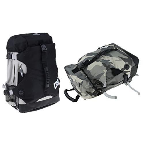 Toygogo Skate Rucksack, 2 Stück Rollschuhbeutel Doppel Schultergurt Pack Für Inline Rollschuhträger, Langlebig, Wasserdicht