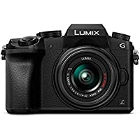 Panasonic LUMIX DMC-G7K Fotocamera Mirrorless Digitale con Obiettivo Standard Zoom LUMIX G VARIO 14-42 mm H-FS1442A, Foto e Video 4K, Wi-Fi, Nero