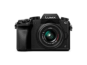 Panasonic LUMIX DMC-G7K Fotocamera Mirrorless Digitale con Obiettivo Standard Zoom LUMIX G VARIO 14-42 mm H-FS1442A, Foto e Video 4K, Wi-Fi, Nero