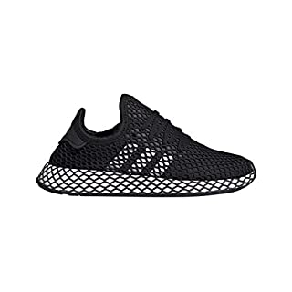 Adidas Unisex-Erwachsene Deerupt Runner J Fitnessschuhe, Schwarz(core black/ftwr white/grey five), 38 EU(5 UK)