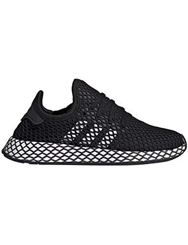 Adidas Unisex-Erwachsene Deerupt Runner J Fitnessschuhe, Schwarz(core black/ftwr white/grey five), 39 EU(6 UK) (Schuhe Kinder Schwarz Adidas)