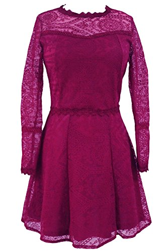 Cfanny - Robe - Patineuse - Femme red