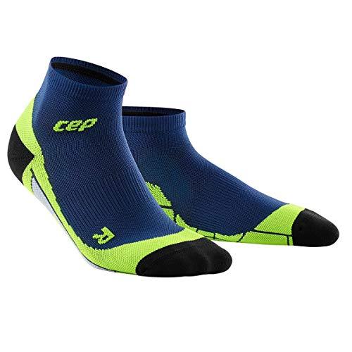 CEP Damen Laufsocken Dynamic+ Low-Cut Socks WP4A deep Ocean/Green, Gr.- 34-37 EU Ocean Green