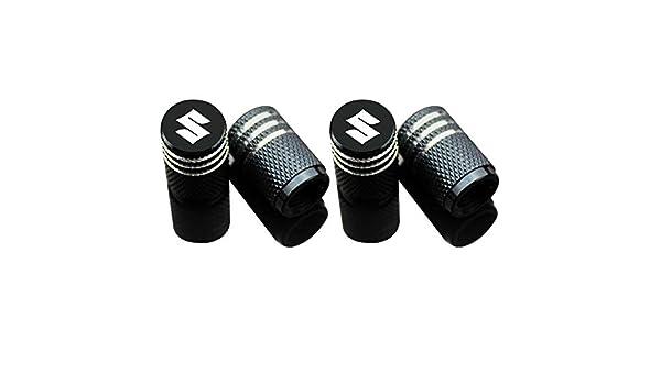 azfdxgfc Lot de 4 bouchons de valve de pneu de voiture pour Suzuki Suzuki gsxr Swift Katana Samurai