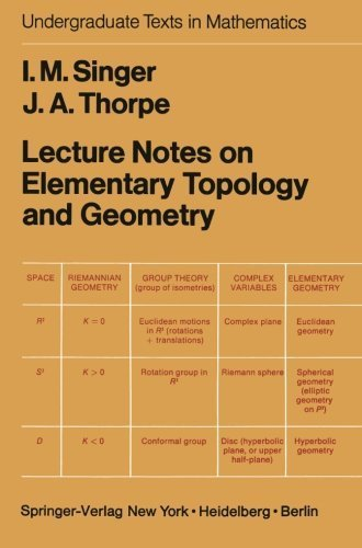 Lecture Notes on Elementary Topology and Geometry (Undergraduate Texts in Mathematics) Softcover reprint of edition by Singer, I.M., Thorpe, J.A. (2013) Paperback
