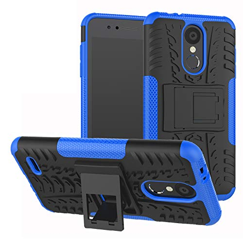 Labanema LG K8 / LG K9 2018 Hülle, Abdeckung Cover schutzhülle Tough Strong Rugged Shock Proof Heavy Duty Case Für LG K8 / LG K9 2018-Blau