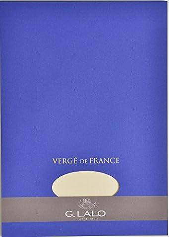 Papier A Lettre Correspondance - G.Lalo Papier à lettres en bloc Vergé