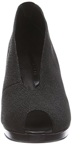 ECCO - Baltimore, Sandali punta aperta Donna Nero(Black/Black 51052)