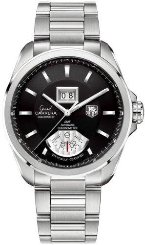 TAG Heuer - Reloj de pulsera hombre, acero inoxidable, color gris