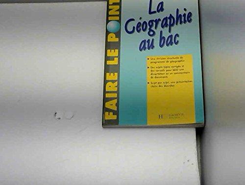 La géographie au bac