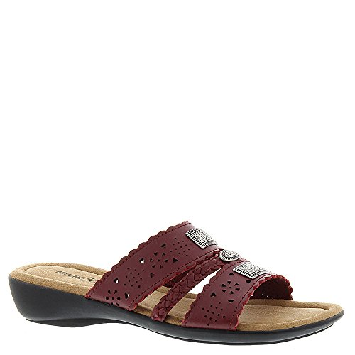 Minnetonka Femmes Gayle Slide Chaussures Couleur Gris Pewter Taille 38 EU / 7 Us